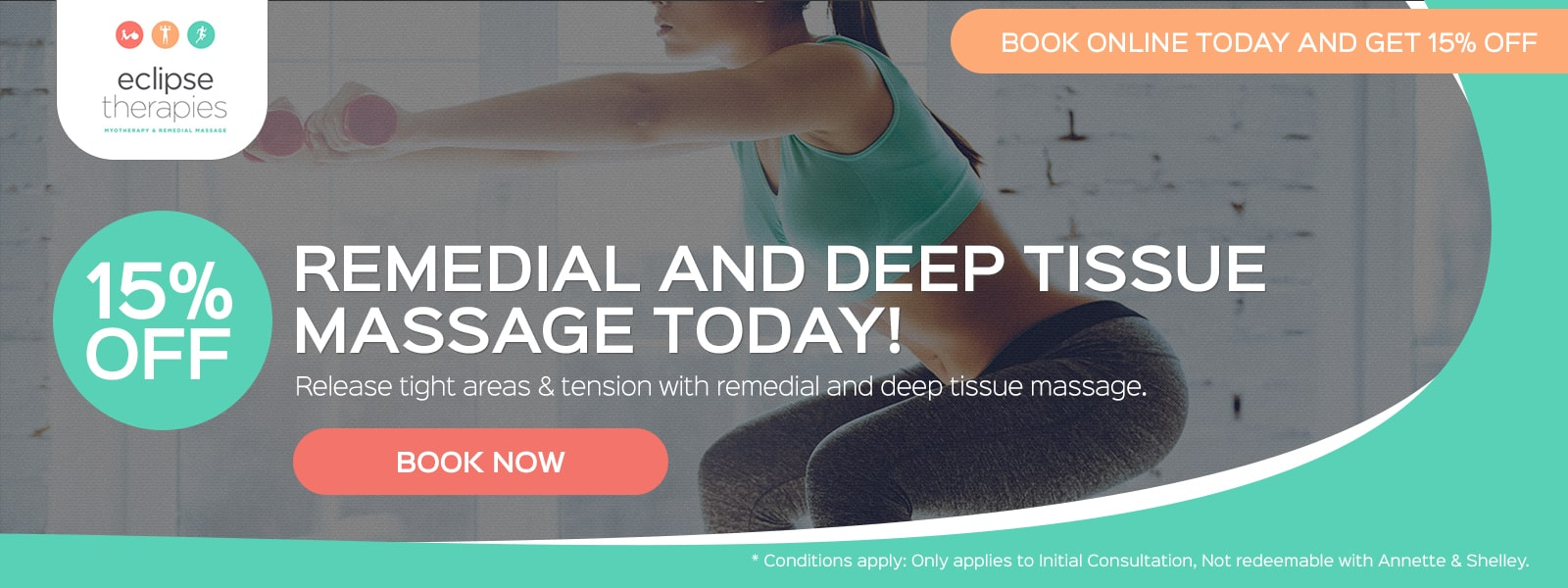 Remedial & Deep Tissue Massage